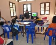 학사생들의 사역현장สถานที่รับใช้ของสมาชิกATC